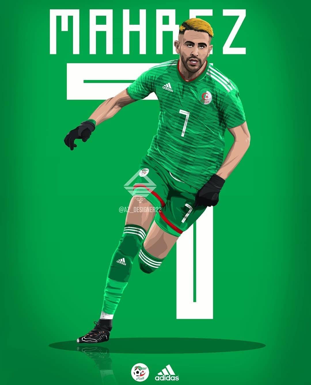 Abrazadera Trastorno Minúsculo  Riyad Mahrez | Football players, Football lovers, Adidas football
