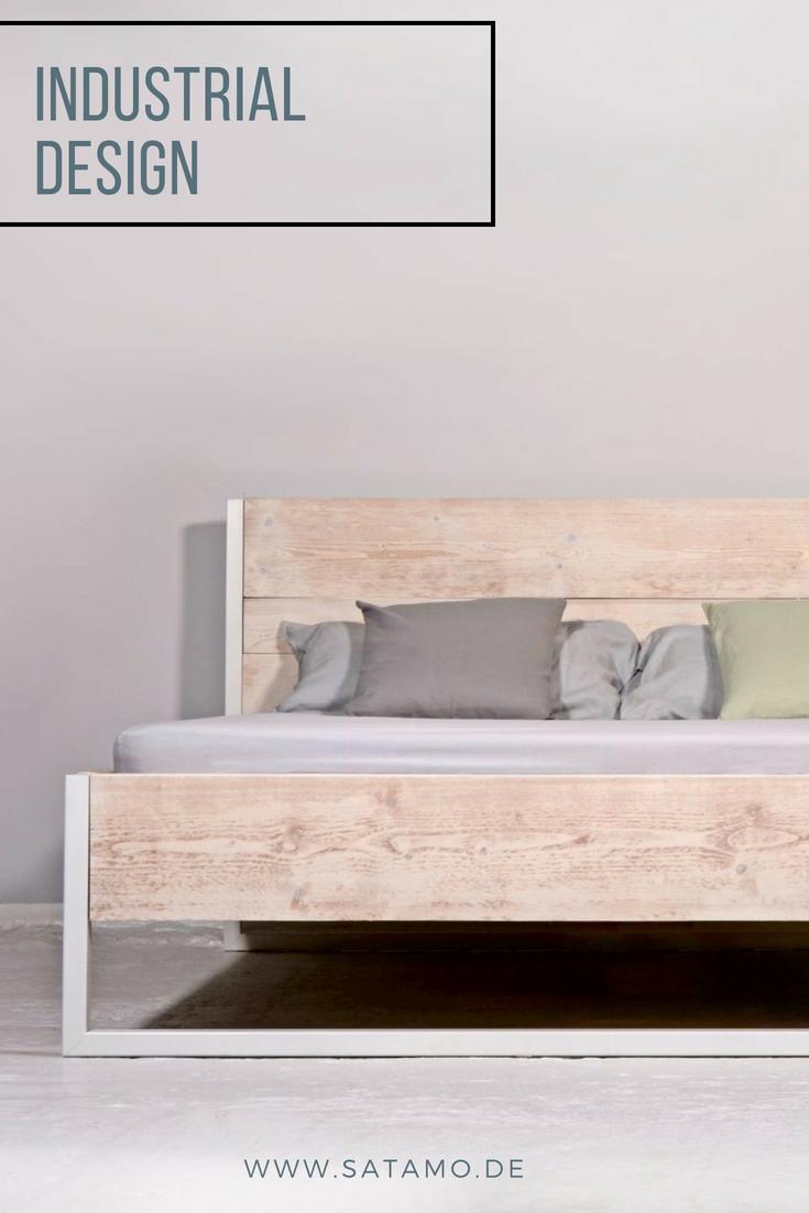 Bett Industrial Design Jetzt Online Entdecken In 2019 Schlafzimmer
