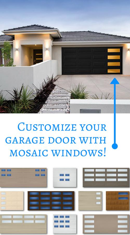 Garage Door Mosaic Windows Anderson Garage Doors Doors Mosaic Windows Anderson Garage Doors
