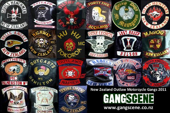 Outlaw Motorcycle Club Logos