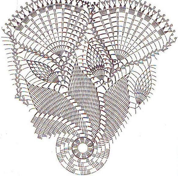 . Napkins-10 - all in openwork ... (crochet) - Country Mom