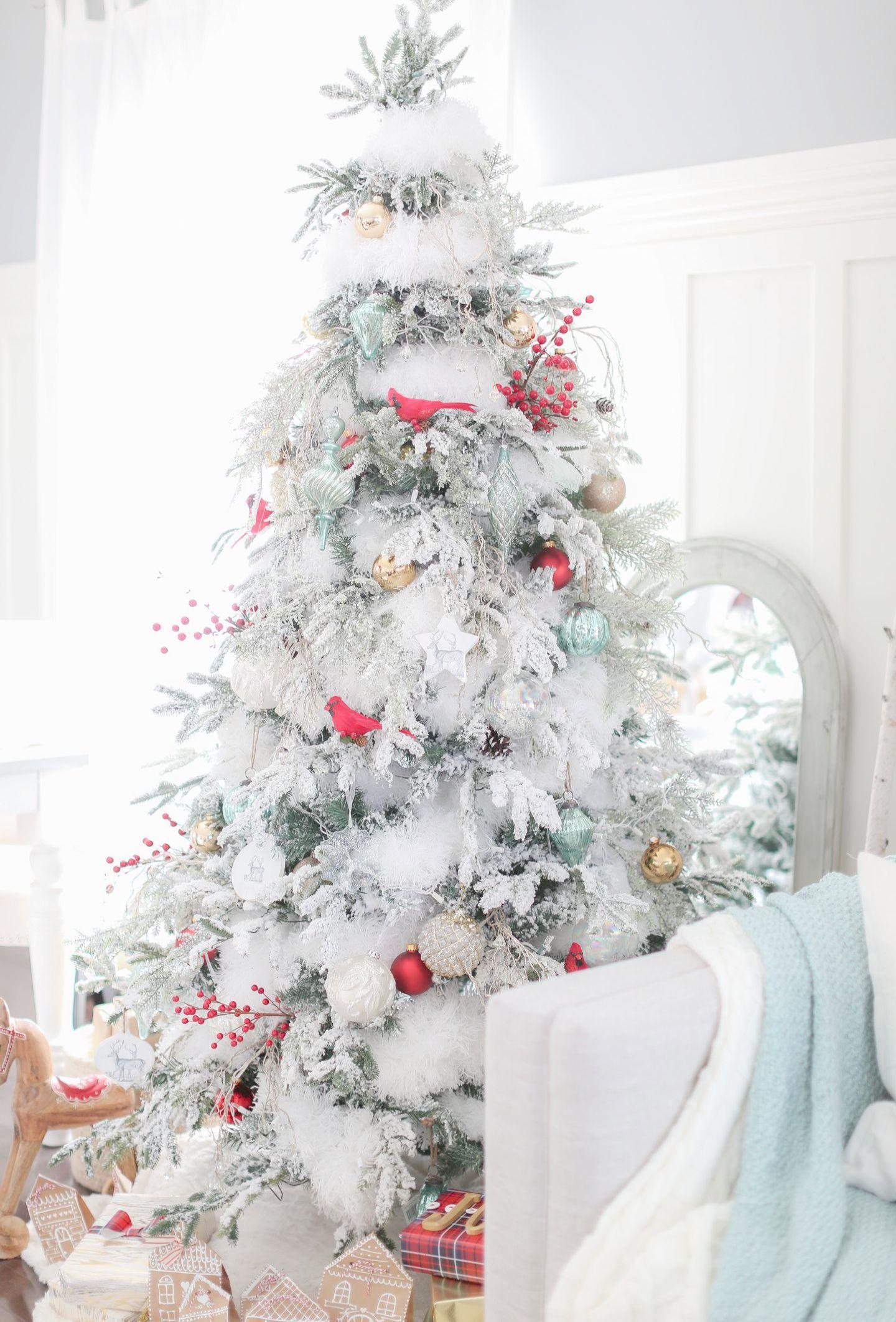Christmas Tree Cluster Within Christmas Home Escape Walkthrough Toward Christmas Home Tour Bo Christmas Tree Design Christmas Tree Themes White Christmas Decor