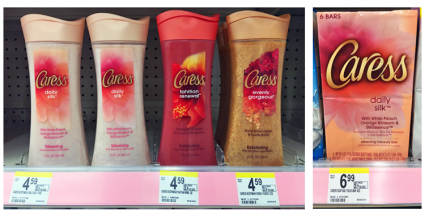 Caress Body Wash, Only 1.92 at Walgreens! Caress body