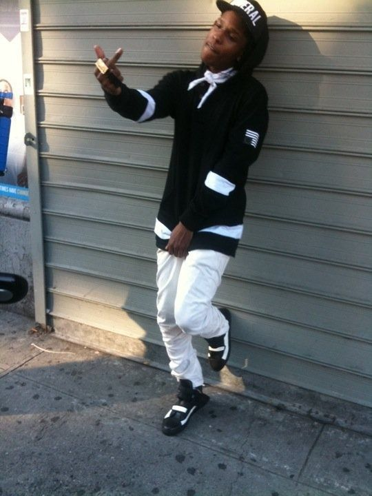 the gallery for gt asap rocky ripped white jeans