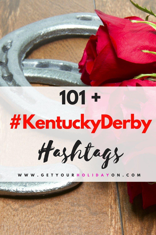Kentucky Derby Hashtags Kentucky derby, Hashtags, Derby