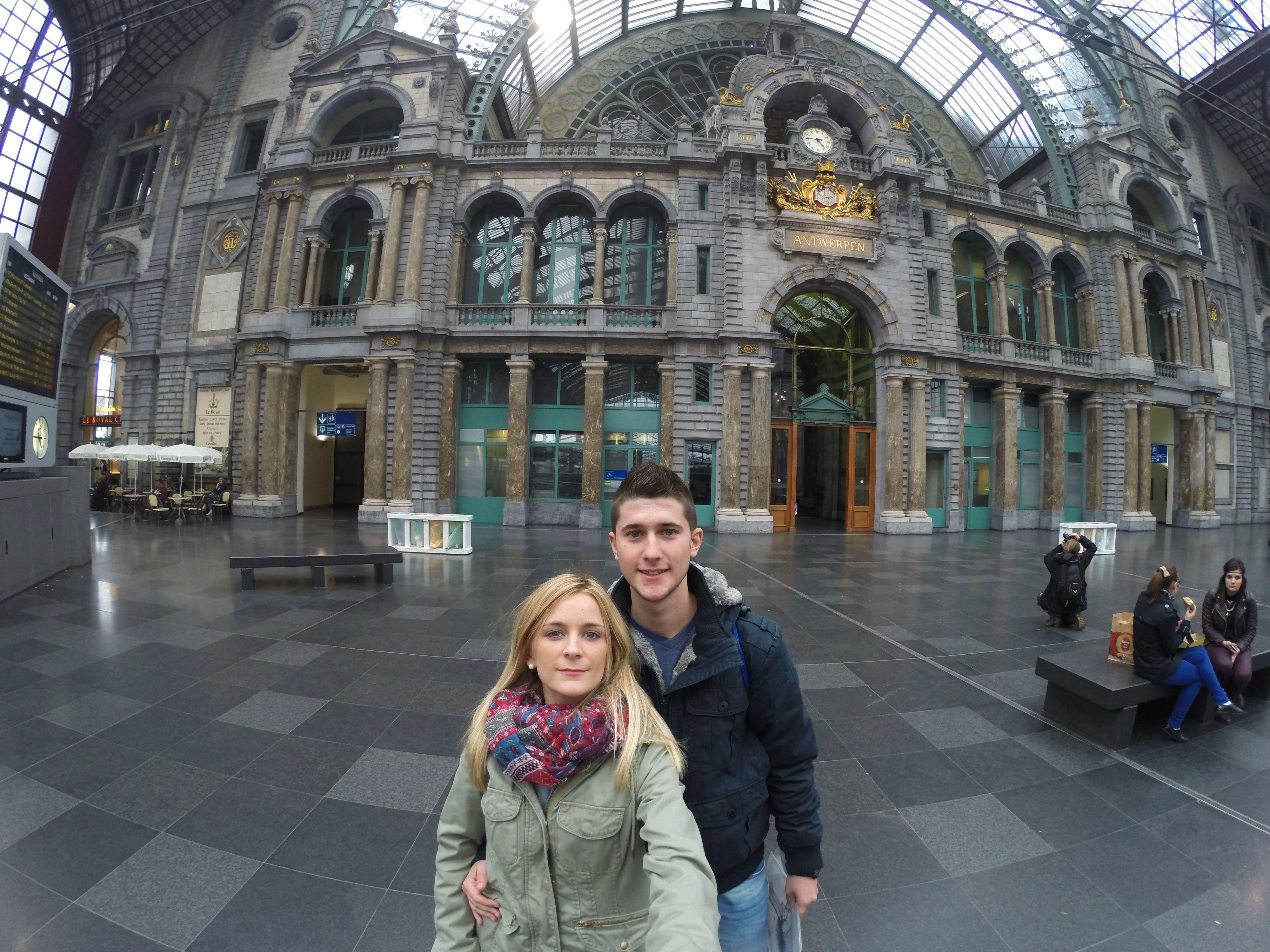 Estación de trenes de Amberes