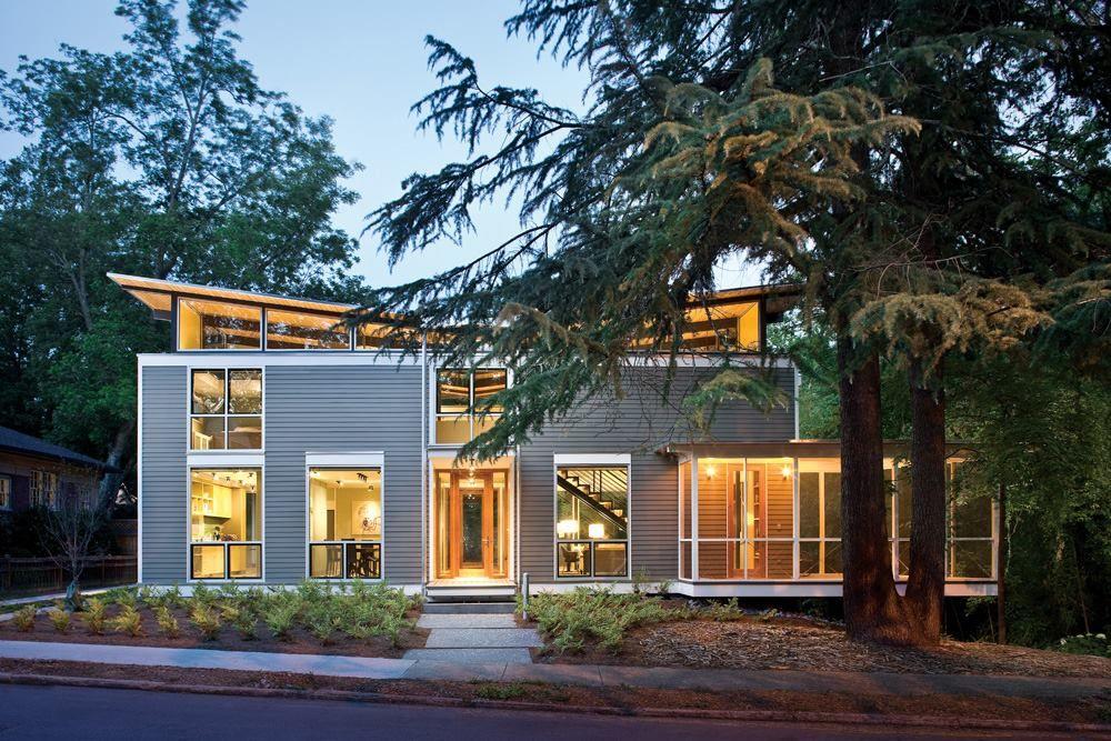 Rainshine House Decatur Ga Architecture House Design House And Home Magazine