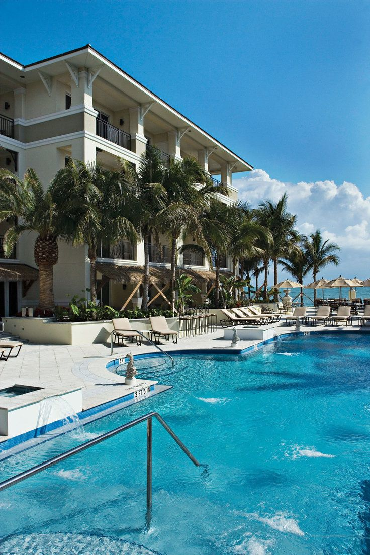 Kimpton Vero Beach Hotel Spa Florida S Pool Surrounded By Loungers Is Only Steps From The Sand
