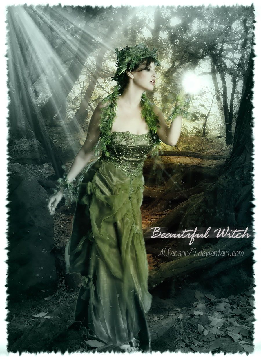 Beautiful Witches deviantART | Beautiful Witch by alfanann79 on DeviantArt