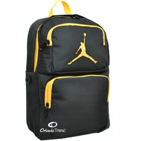 nike air backpack yellow