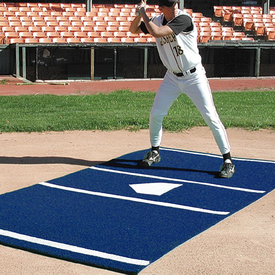 Sports Turf 6 X 12 Baseball Mat With Permanent Home Plate Color Sports Turf Sports Baseball Pictures