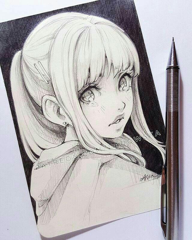 Pingl par lily aguilar sur anime pinterest dessin - Fille manga a dessiner ...