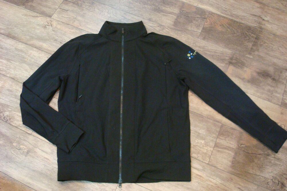 f22e03e8b Lululemon Men's Black full zip Jacket Thumb holes sz XL Openview Co ...