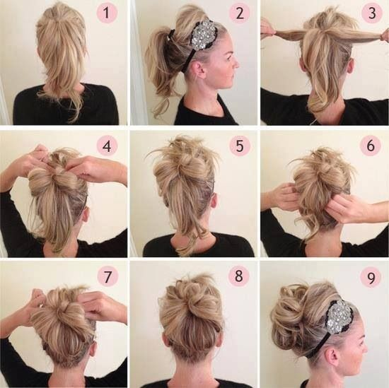Do it yourself hairstyle step by step pretty hairadvice do it yourself hairstyle step by step solutioingenieria Images