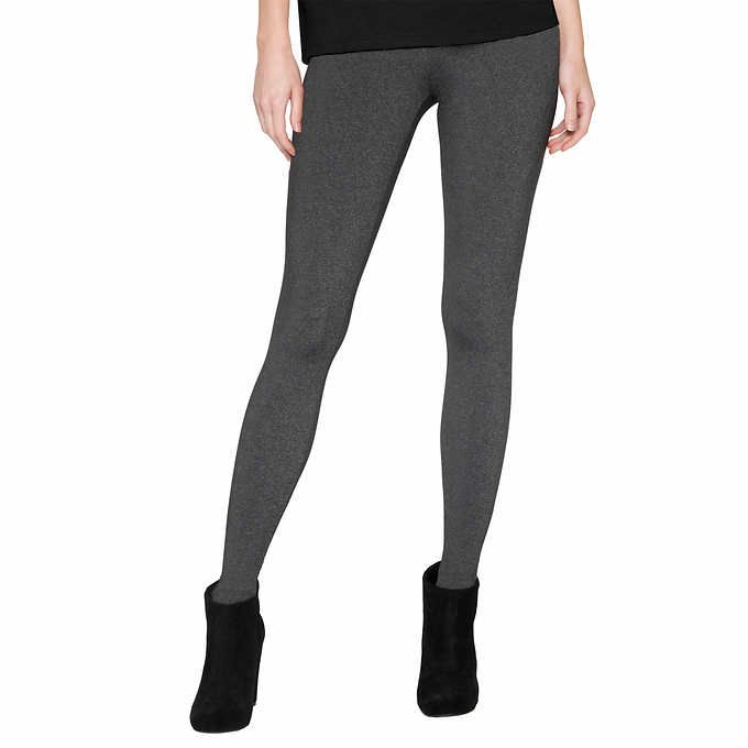 Matty M Women/'s Size X-Small Wide Band With Pockets Legging Charcoal