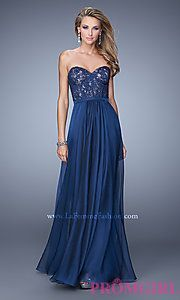 Buy La Femme Strapless Sweetheart Dress at PromGirl