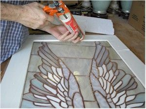 How To Build A Frame For Stained Glass Stained Glass Diy