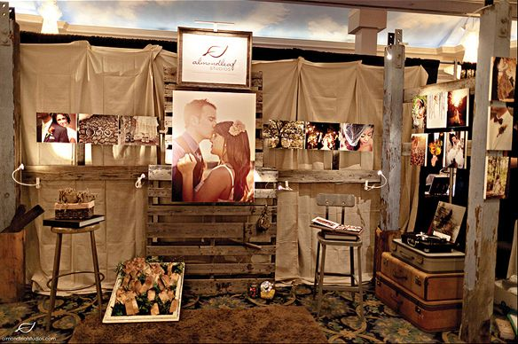 Trade Show Inspiration Almondleaf Studios Photography Booth Wedding Show Booth Bridal Show Booths