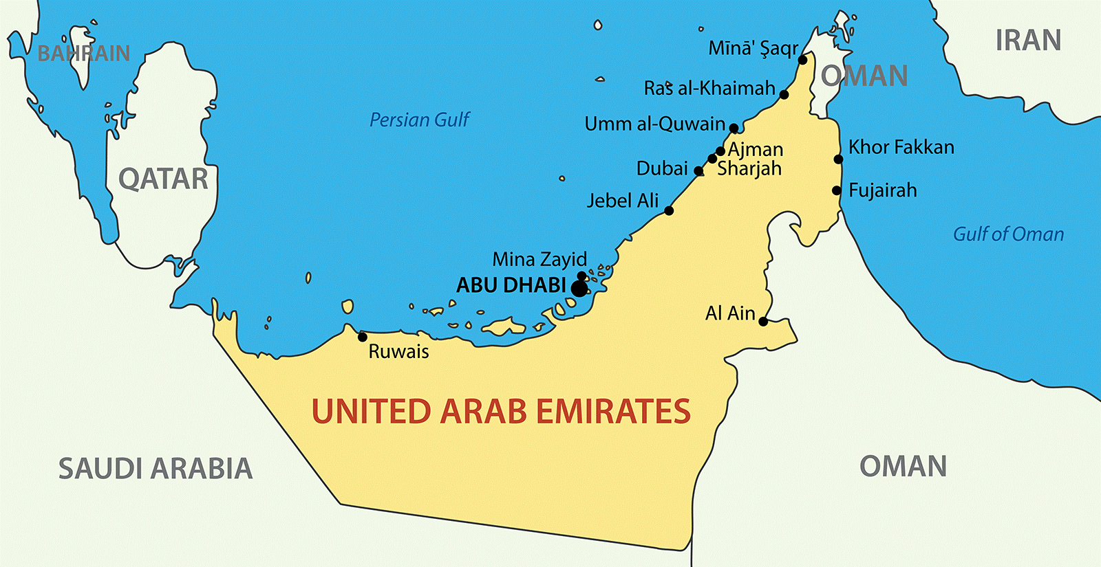 Translating Your Website Into Arabic Is Just One Step Toward Attracting Arabic Speakers To Be Successful It S Impo United Arab Emirates Emirates Detailed Map