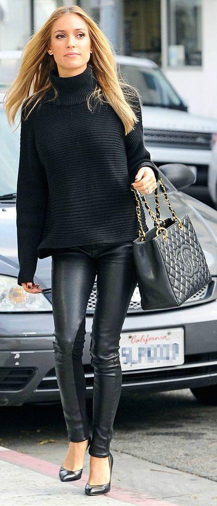 5 Effortless Ways To Wear All Black #stylechat #fashion