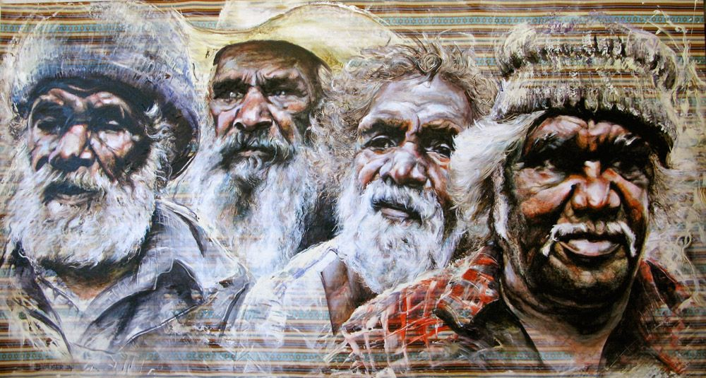 The Elders  - 110x200 - 2014