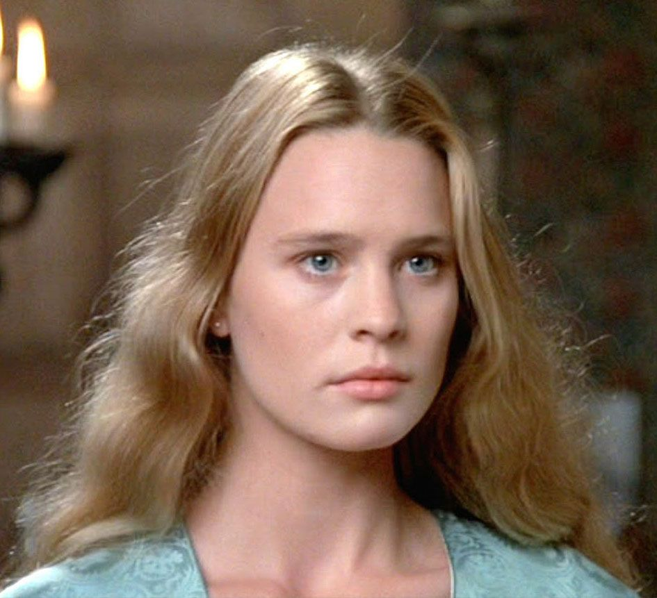 Young Robin Wright Princess Bride