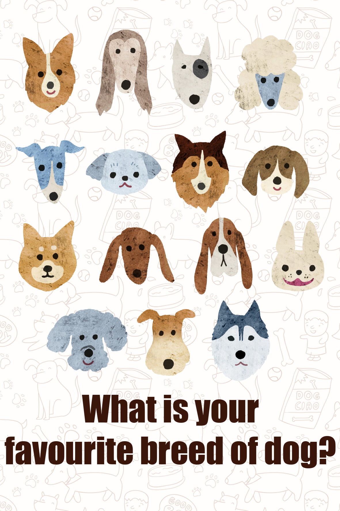 What Is Your Favourite Breed Of Dog 6 Choices In 2020 With Images Dogs What Kind Of Dog Poodle