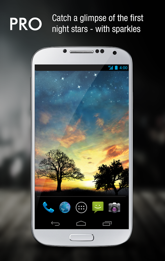 Apklio Apk for Android Sunset Hill Pro Live Wallpaper 1