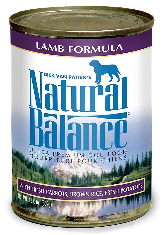 Lamb formula wet dog food 13oz case of 12 size 6oz