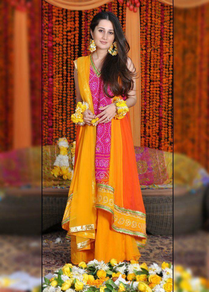 Latest Hyderabadi Mehndi Dresses 2017 | Hyderabad Nikah | dresses ...