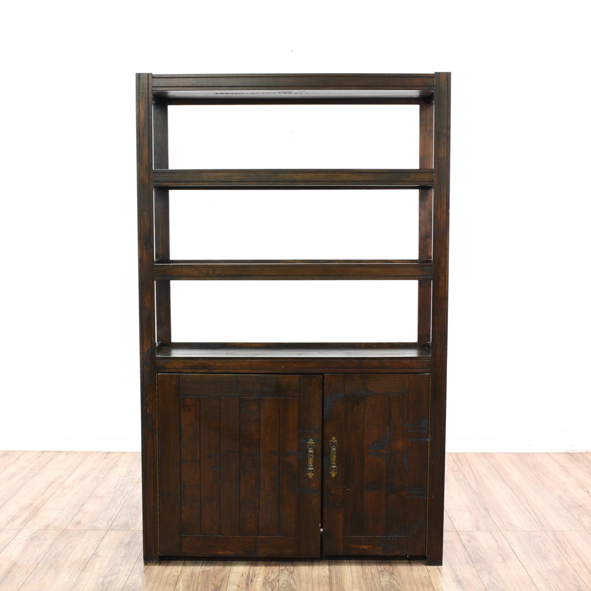 dark storage kitchen basic iris amazon tier brown wood dining bookcases shelf bookcase antique