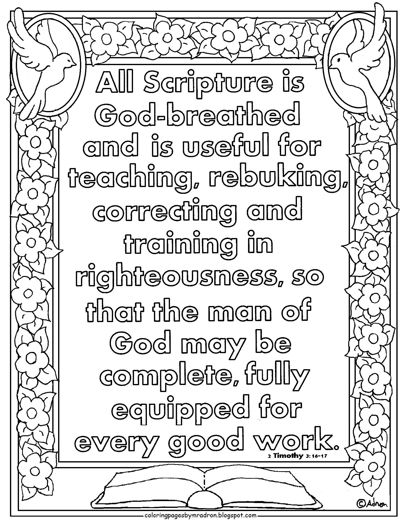 Paul And Timothy Coloring Pages - Coloring Home | 2178x1686