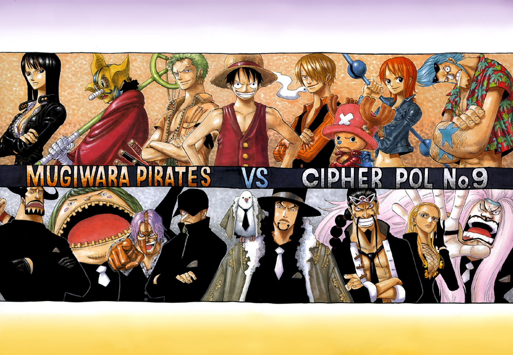 Color Spreads | Colors of One Piece | One piece manga, One