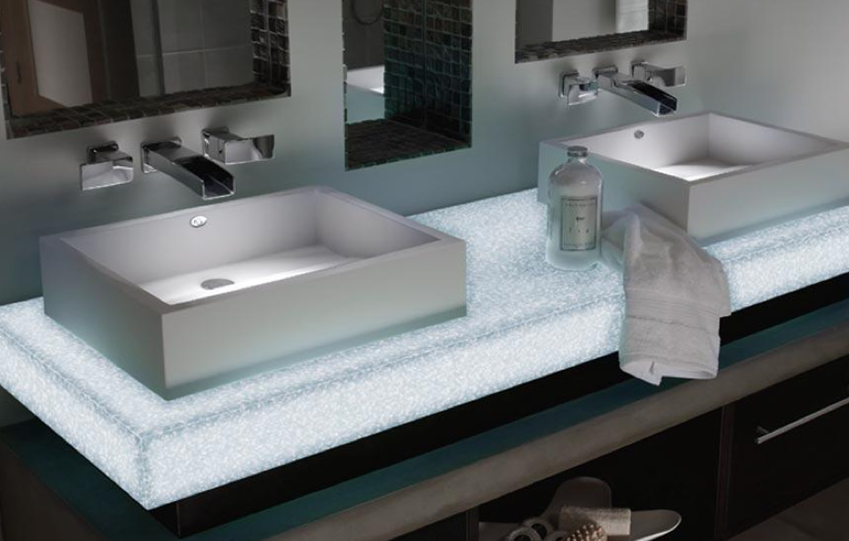 Chorlton Bathrooms Takes Illumination To The Next Level With This - Bathroom sink set up