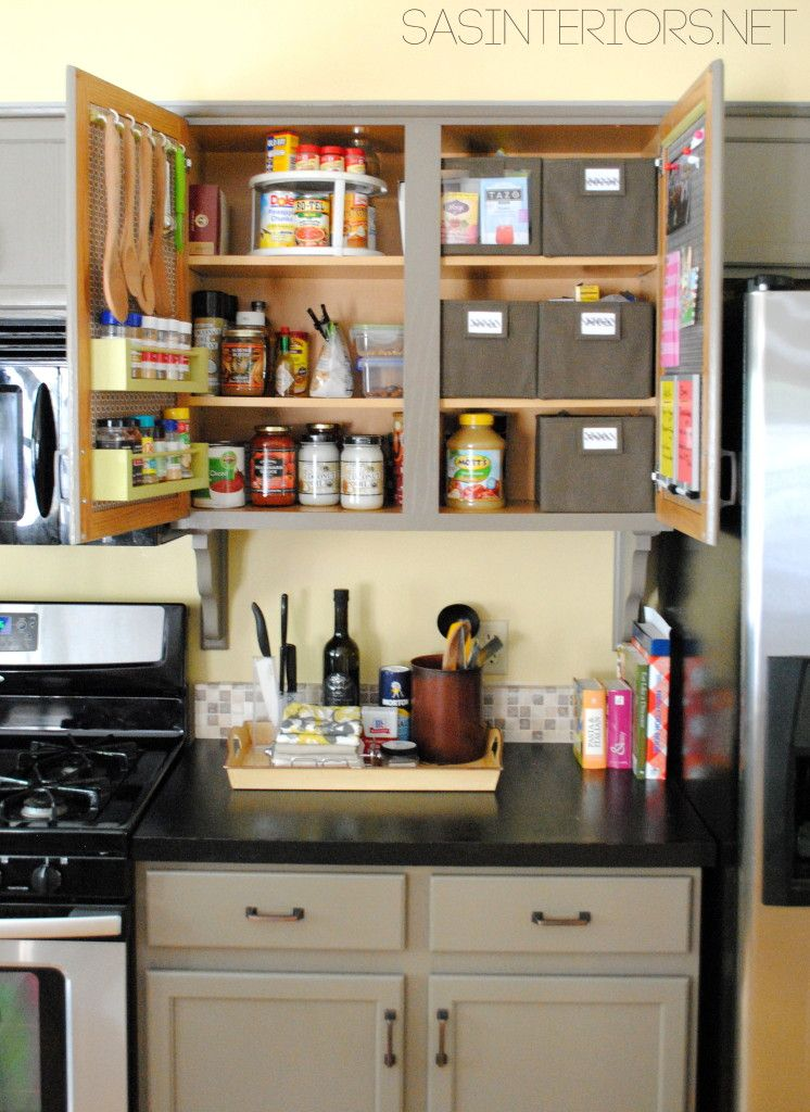 10 Ideas For Organizing A Small Kitchen Home Diy Small Kitchen