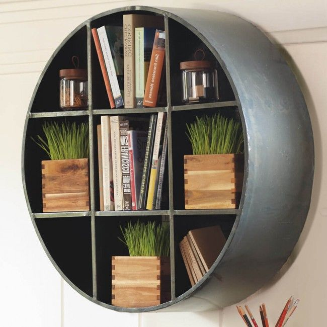 Round Metal Shelf Small Round Wall Shelves Metal Shelves