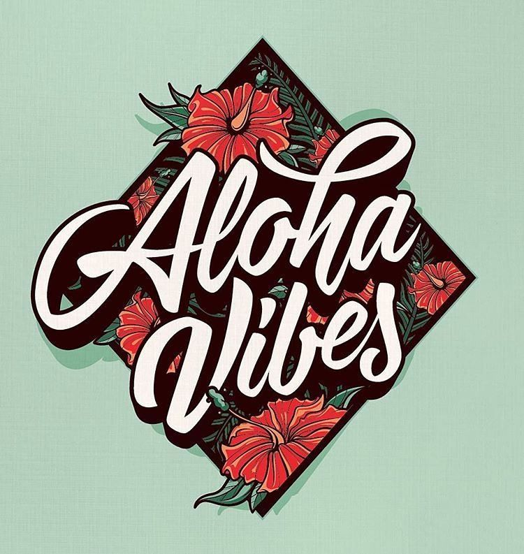 More island vibes from @onevibe - #typegang - typegang.com | typegang.com #typegang #typography