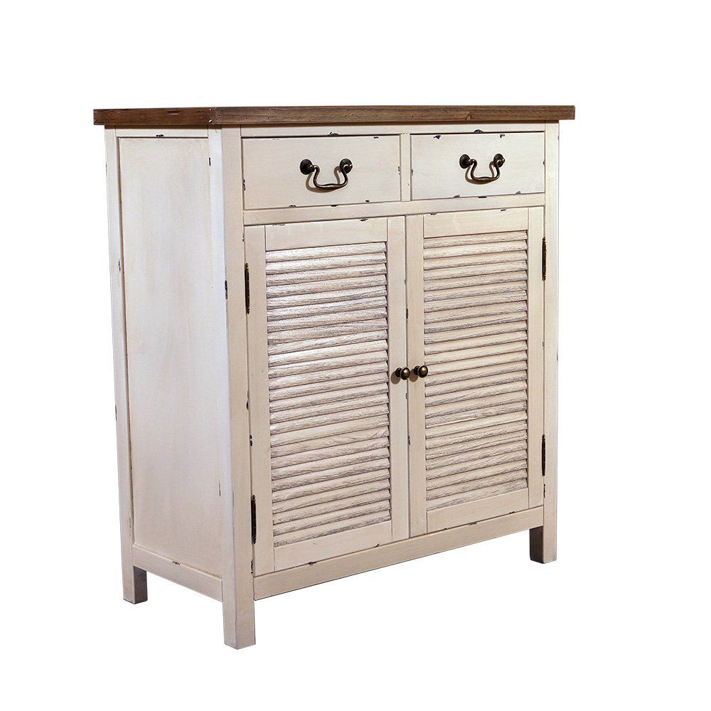 Wunderbar Kommode Weiß Holz Ideen Von Möbel - Bretagne - Schrank - Vintage