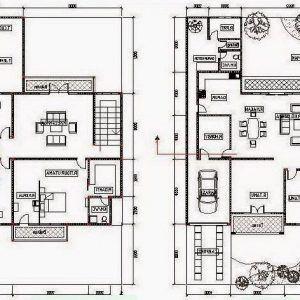 162+ denah rumah minimalis 2 lantai modern terbaru | denah