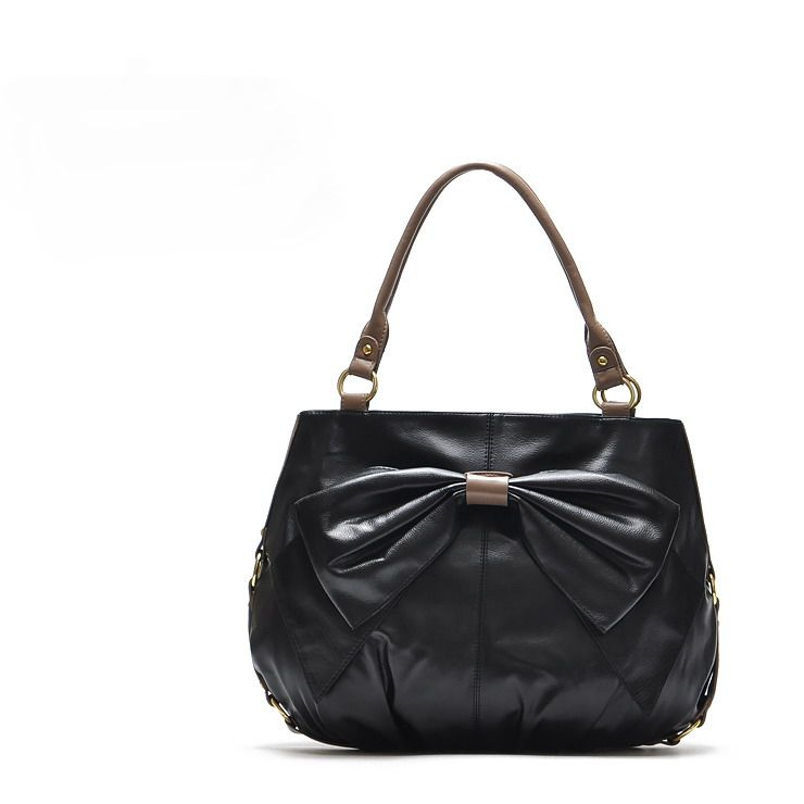 H1548 ZZ Cute BOW PU Zipper Sweet Lolita Handbag Purse Tote Bag Free shipping wholesale dropshipping M13-in Bag Parts & Accessories from Luggage & Bags on Aliexpress.com