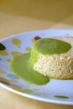 Flan de poireaux et coulis vert : recette de flan de poireaux - Recettes légères : sélection de recette light, légère et facile