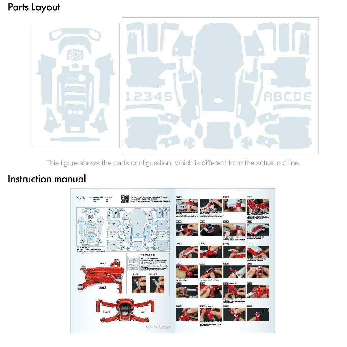 Poly Skin for DJI Mavic Mini Main unit in 2020