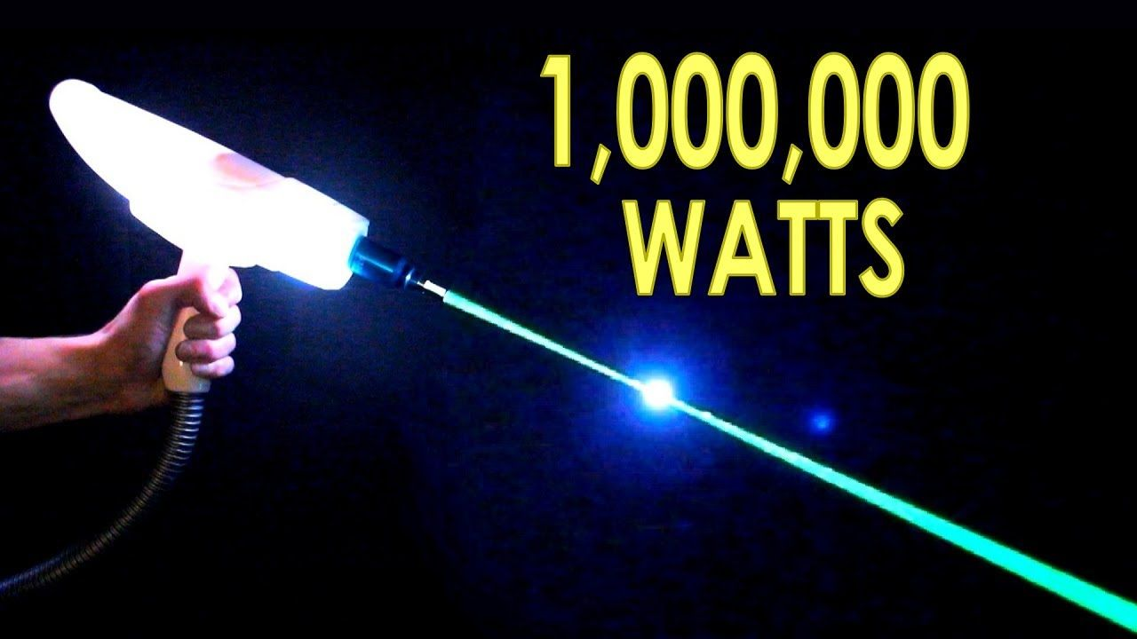 Dangerous tattoo remover from ebay is a million watt laser