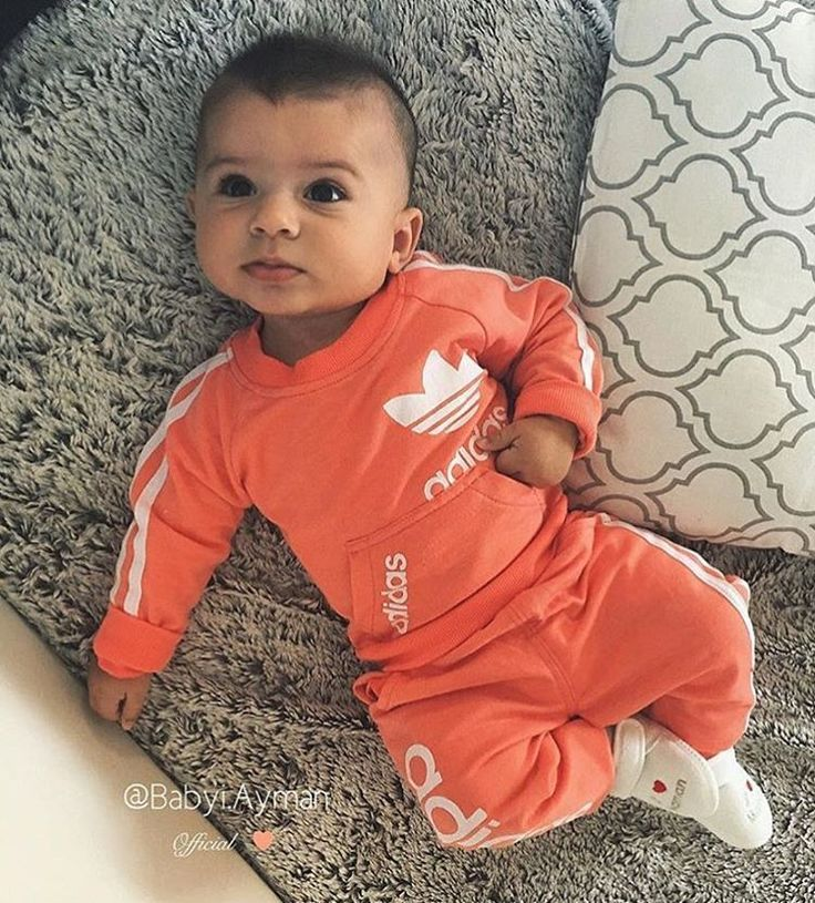 Love the baby adidas look. Great first birthday gift too