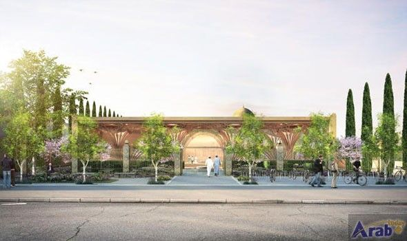 Grand and 'green' Cambridge mosque highlights architectural…