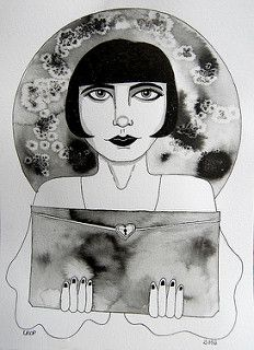 Pandora's Box - Ink Drawing - by Laura DP / Pict Ink
