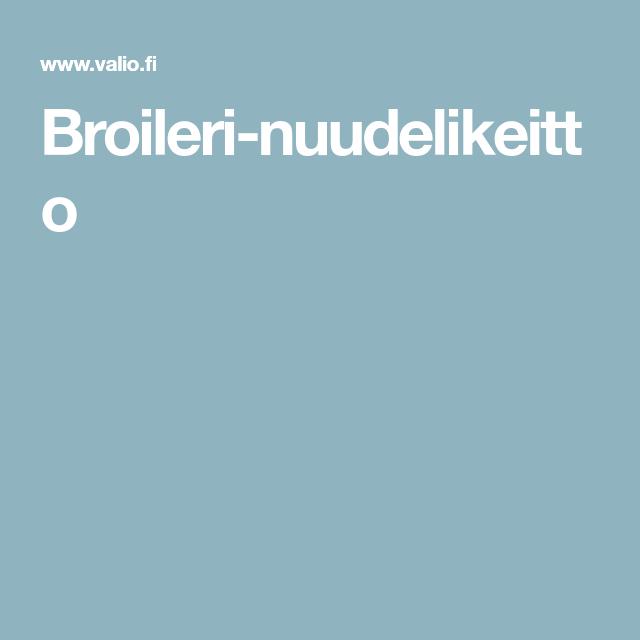 Broileri-nuudelikeitto