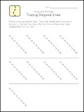 Tracing Lines Worksheets | Kids Learning Station | education ...