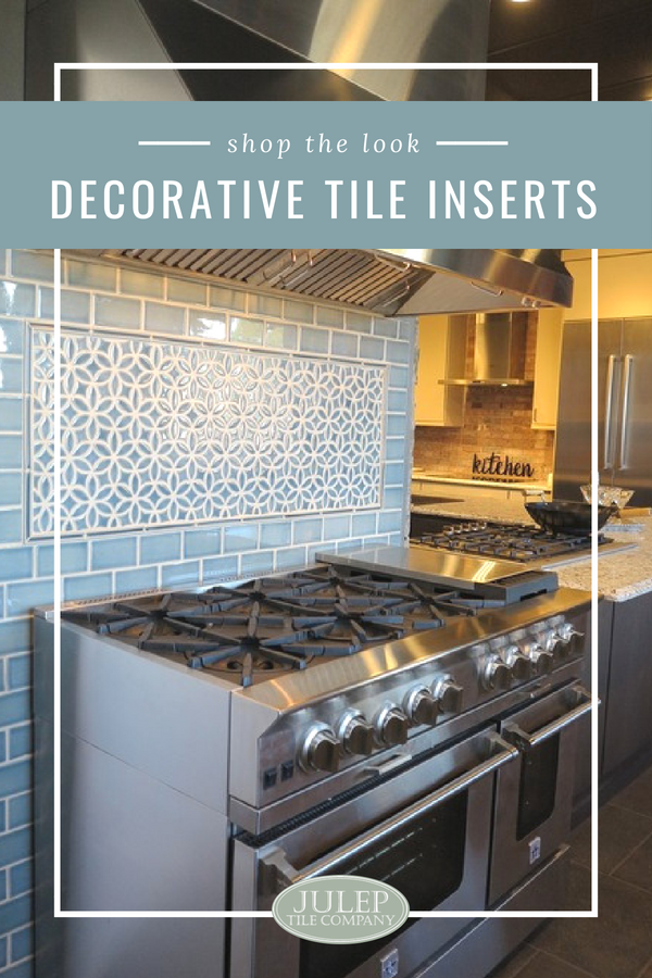 The Look Decorative Tile Inserts As You Plan Your