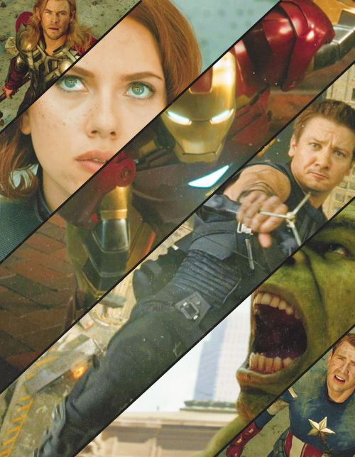 Avengers Assembled Photoset... why are the most attractive ones on the end and the smallest?